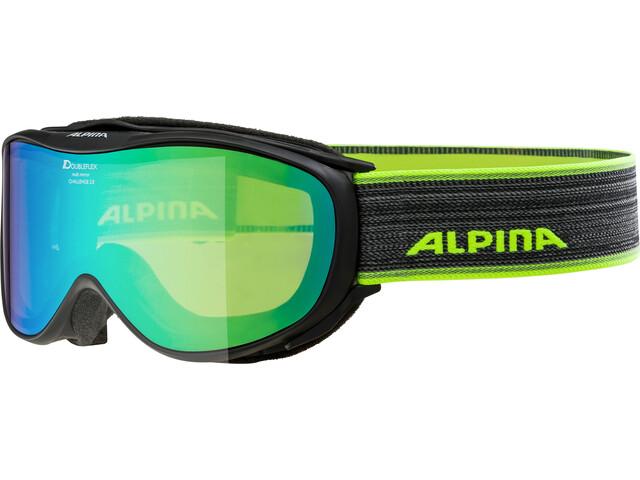 Alpina Challenge 2.0 Multimirror S2 Gafas de esquí, black green